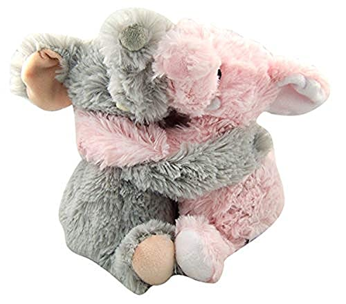 Warmies microwavable French Lavender Scented Elephant hugs, Multi, Medium