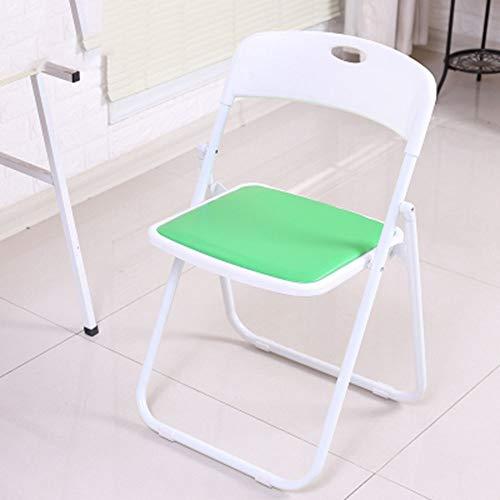 XUMINGZDY Klapstoel kantoor opvouwbare rugleuning stoel kruk draagbare slaapkamer computer stoel eenvoudig comfortabel zitruimte trainingsstoel