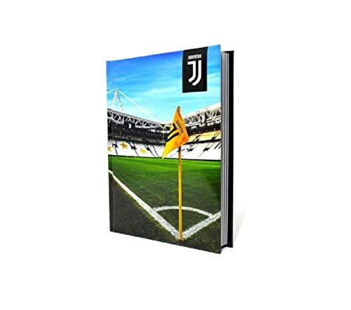 Agenda escolar Juve Stadium de 12 meses sin fecha, formato 18 x 13 cm + bolígrafo de color de regalo