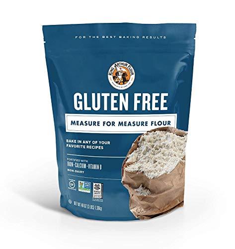 King Arthur Flour Gluten-Free Measure for Measure Flour, 3 Pound (2 Pack (3 Pound))