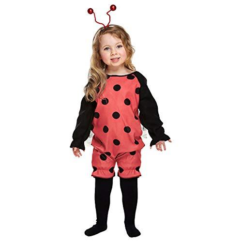 Déguisement Costume Enfant Fille - Coccinelle - 3 ans
