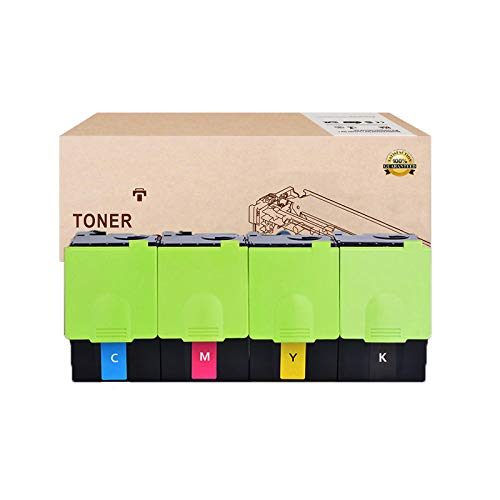 ZAHNGHY Compatible Reemplazo De Cartuchos De Tóner para LEXMARK CS317 71B20K0 71B20K0 71B20K0 71B20K0 Cartucho De Tóner para LEXMARK CS CX317DN CS417DN CX417DE CS517DE CX517DE Tóner,4 Colors