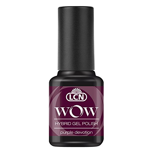 LCN WOW Hybrid Gel polaco, color morado y gris