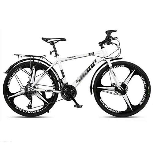 Mountain Bike Bicicleta para joven MTB camino de la bicicleta bicicletas de montaña de la bici adulta de velocidad ajustable for hombres y mujeres de 26 pulgadas ruedas doble freno de disco