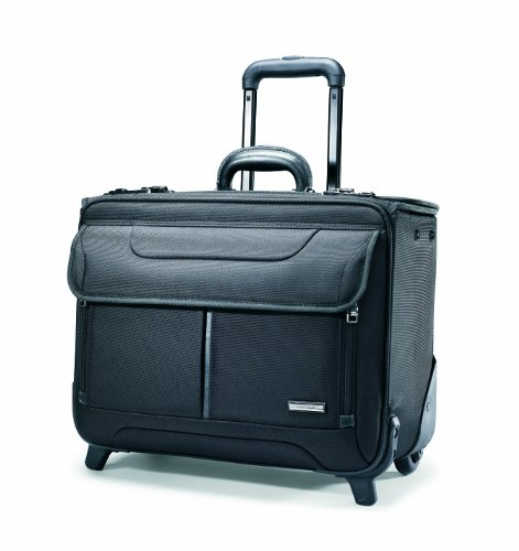 Samsonite Wheeled Catalog Case, Black
