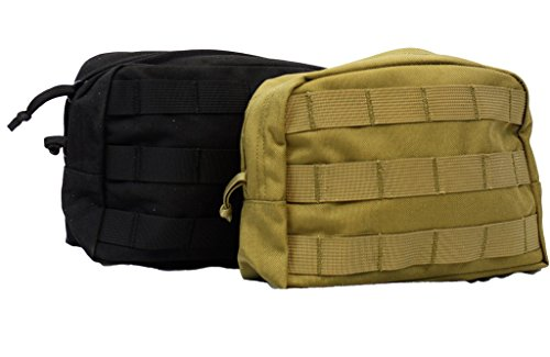 LBT 6109B Modular Utility Pouch 2 Pack (2-Coyote Pouches)