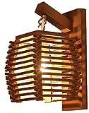 Zhangl Lámpara de Pared de Madera Restaurante Chino Aplique de la Pared de la Sala Dormitorio de Noche Corredor Escalera la luz del Pasillo Ligero de la Pared de la Cocina Sujetador