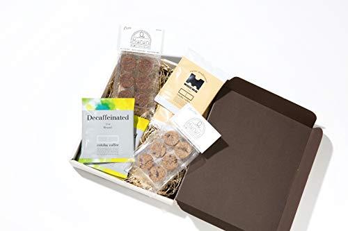 ギフトセット 出産祝い カフェインレス オーガニック コーヒー & グルテンフリー クッキー