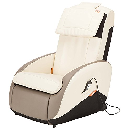 iJoy Active 2.0 Perfect Fit Massage Chair, Bone Color Option