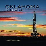 Oklahoma Calendar 2021: 16 Month Calendar