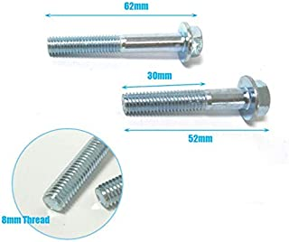 Sala-Ctr - Scooter Exhaust Rear Bolts For 50cc 125cc 150cc Gy6 Moped 139QMB 157QMI