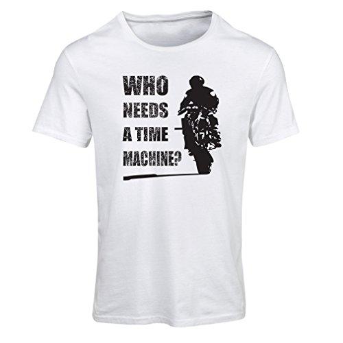 lepni.me T Shirts for Women Abbigliamento Moto (X-Large Bianco Multicolore)