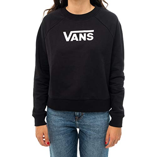 Vans Flying V Ft Boxy Felpa Donna Nero S (Small)