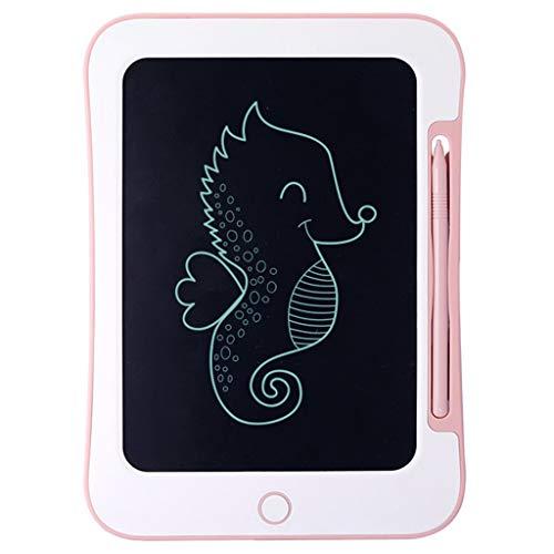 JYLJL Tableta Gráfica Electrónico LCD Portátil Mini Tablero De Escritura A Mano Bloc De Dibujo Tableta con Bloqueo De Memoria Adecuado For Los Niños (Color : Pink)