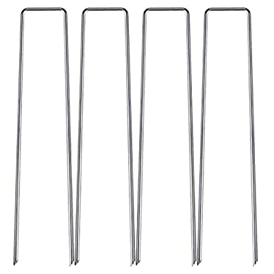 Moutik Garden Stakes Landscape Staples:6 inches...