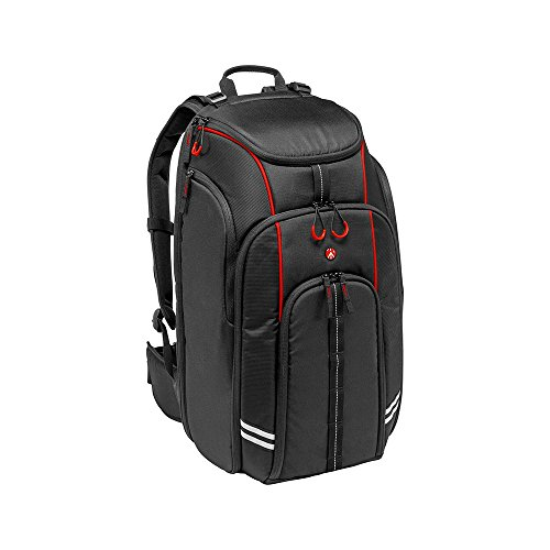 "Manfrotto MB BP-D1 DJI Professional Video Equipment Cases Drone Backpack (Black),22"" x 13"" x 19"""