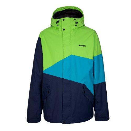 Zimtstern Herren Jacket Snow Inventor, Lime, XL, 7710201834706