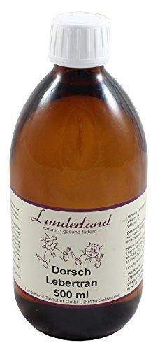 Lunderland - Dorschlebertran, 500 ml, 1er Pack (1 x 500 ml)