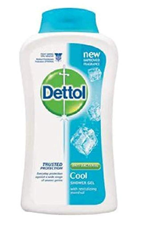 おいしい神聖歯車Dettol 100%ソープフリー - - 平衡のpH値 - クリーム含有する毎日の細菌を防ぐために、コールドシャワージェル250mLの