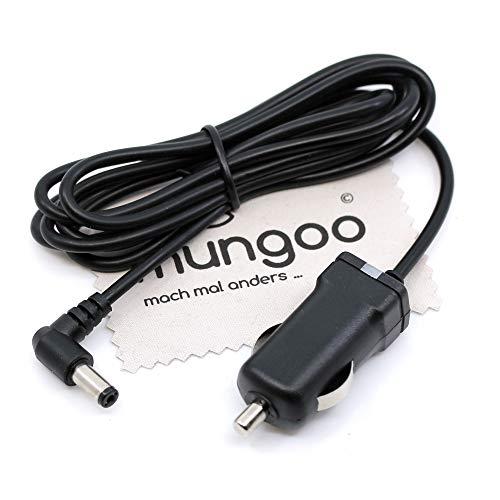KFZ Ladekabel passend für Tonies Toniebox Lautsprecher Auto-Ladegerät Kabel Netzteil 1,5m mit mungoo Displayputztuch