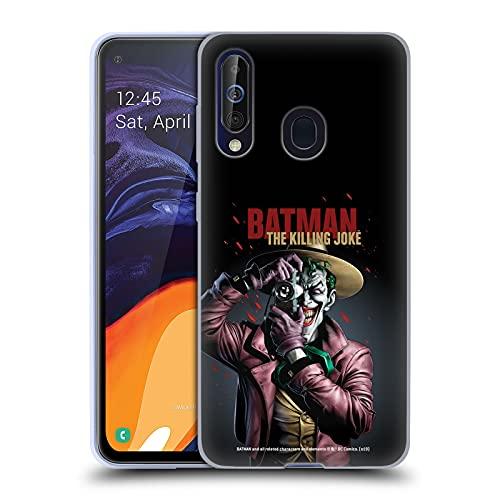Head Case Designs sous Licence Officielle Batman DC Comics Joker Le Killing Joke Couvertures Célèbres De Livre Comique Coque en Gel Doux Compatible avec Samsung Galaxy A60 / M40 2019