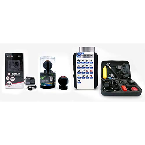 Pack Vision Elite SJ CAM SJ6 Legend + Fotocamera 360 FLY (Voxx Electronics) + Kit Accessori per Action Camera