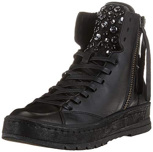 Crime London Damen Brixton Sneaker, Black, 39 EU