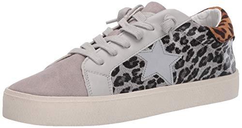 Madden Girl Women's LARRK Sneaker, Grey Multi, 7.5 M US