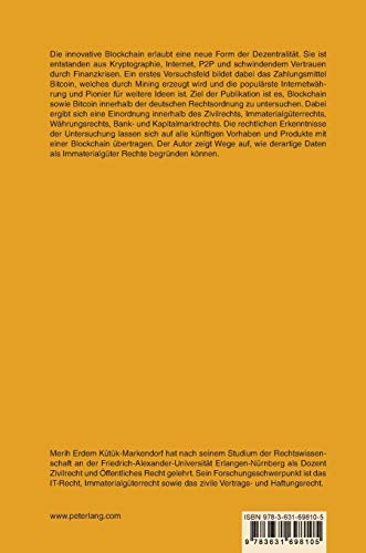Rechtliche Einordnung von Internetwährungen im deutschen Rechtssystem am Beispiel von Bitcoin (Schriften zum Wirtschafts- und Medienrecht, Urheberrecht und Immaterialgüterrecht) (German Edition)