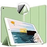 VAGHVEO Funda para iPad Mini, Slim Fit Ligera Función de Soporte Protectora Suave TPU Carcasa [Auto-Sueño/Estela] magnético Smart Cover para Apple iPad Mini, iPad Mini 2, iPad Mini 3, Verde_02