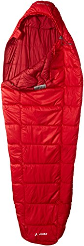 VAUDE Damen Schlafsäcke Sioux 400 S SYN, dark indian red, 34 x 19 x 17 cm, 122386520020