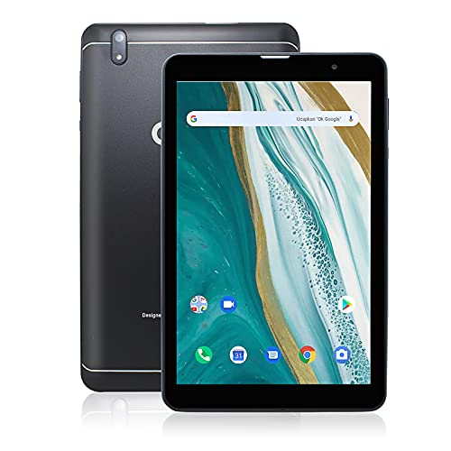 Tablet 8 Inch 4G Phone Tablets Dual Sim Card, Octa-core Processor,1920x1200 Full HD Display, Android 10 Tablet, with 3GB RAM 32GB Storage,8MP+5MP Camera, Phablet,WiFi, Bluetooth, GPS (Black)