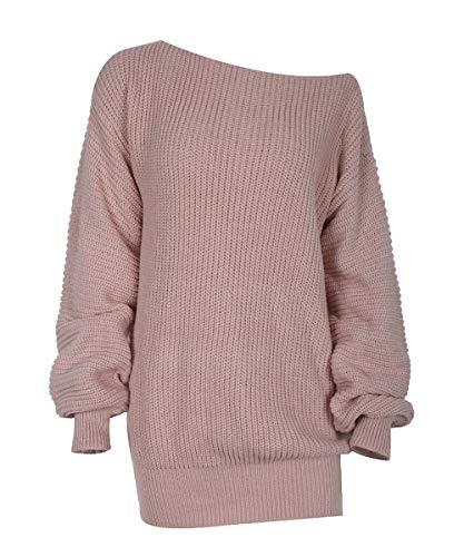 Acramy Damska sukienka z długim rękawem, dzianinowa, na sezon jesień/zima
