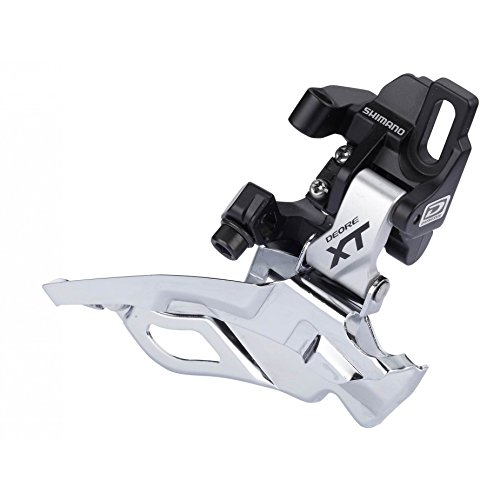 Shimano DXT FD-M786 Front Derailleur - 10-Speed, TPBS, Direct Mount, Silver