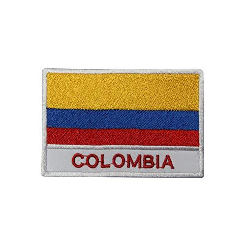 Aufnäher/Aufbügler/Aufbügler Kolumbien Nationalflagge bestickt