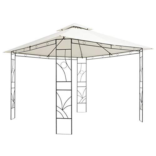 vidaXL Pavillon 3x3x3 m Garten Pavilon Partyzelt Gartenzelt Festzelt Bierzelt