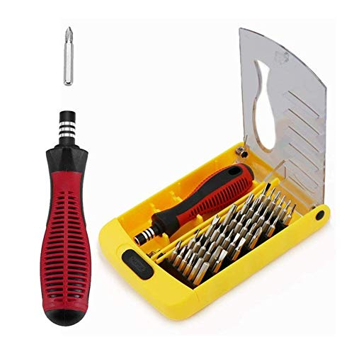 BZH 37 In 1 Precision Screwdriver Set Multi-function Repair Tool Kit for Phone Laptop (Color : As show)
