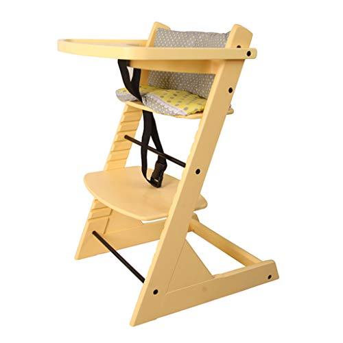 Chaise Haute Siège d'appoint Chaise de Salle à Manger pour Enfants Multifonctionnel en Bois Chaise de Salle à Manger pour bébé Sièges de Bureau