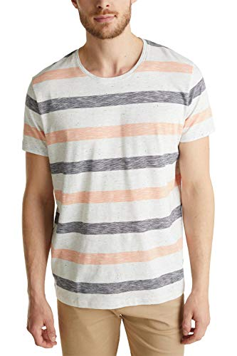 ESPRIT Herren 040EE2K325 T-Shirt, 822/ORANGE 3, XXL