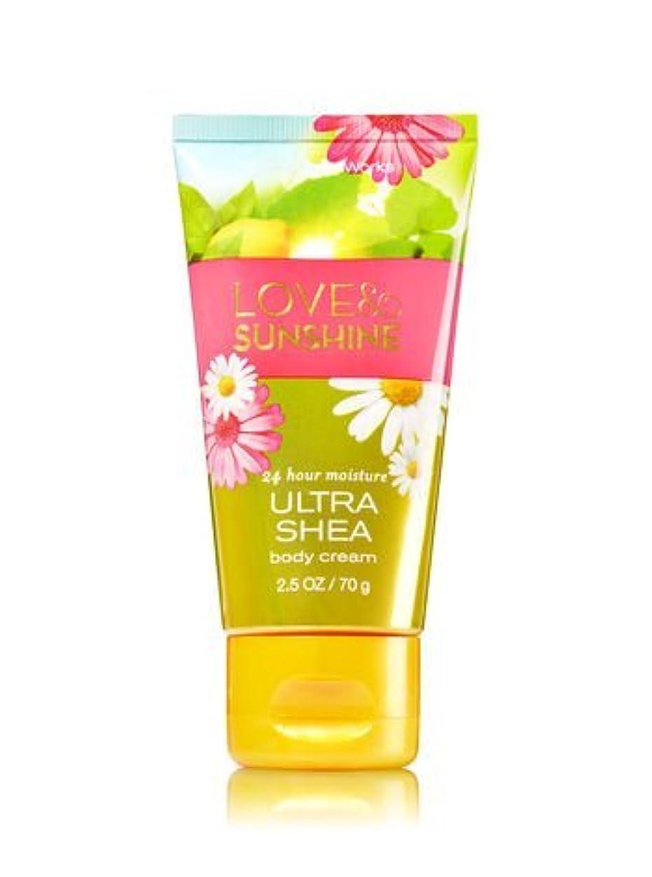プロフィール高音ダイエット【Bath&Body Works/バス&ボディワークス】 トラベルサイズ ボディクリーム ラブ&サンシャイン Travel Size Body Cream Love & Sunshine 2.5 oz / 70 g [並行輸入品]