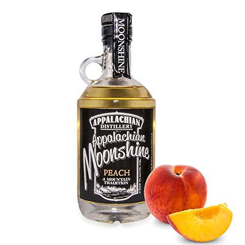 Appalachian Moonshine - Pfirsich. 20% Vol. - Echter handgefertigter Moonshine Whiskey aus West Virginia, USA.