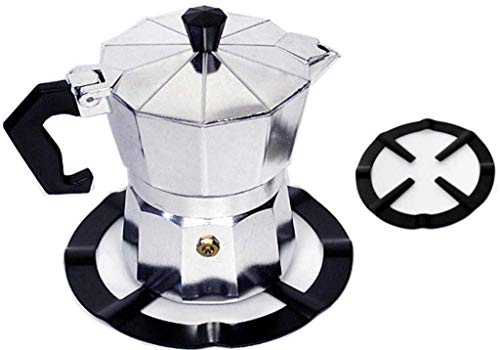 TopKitchenGadgets™ Universal Mocha Pot Stand ☆ Reducer Ring Holder Base Trivet for Moka Expresso Coffee ☆ Heavy Duty…