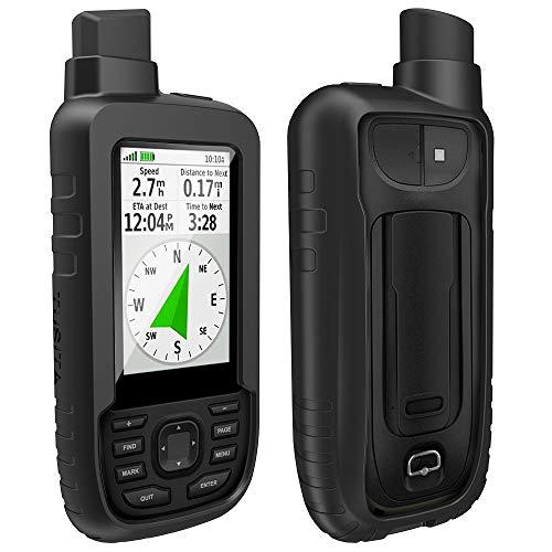 TUSITA Custodia Compatibile con Garmin GPSMAP 66s 66st 66sr - Custodia protettiva in silicone per pelle - Accessori GPS Portatili