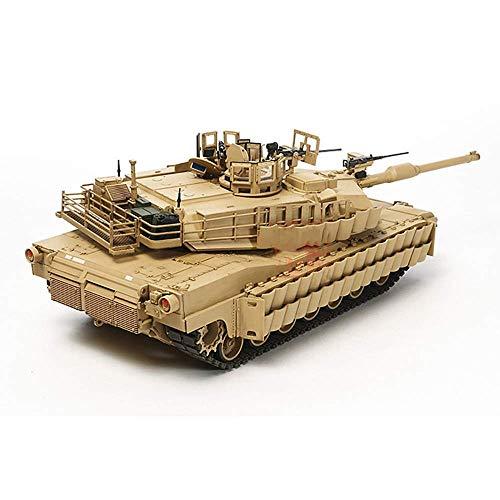 WCY El Tanque Militar Puzzle Kits Modelo, EE.UU. 1/35 M1A2 Abrams Tanque de Batalla Principal de Rompecabezas Modelo, Juguetes de los niños yqaae