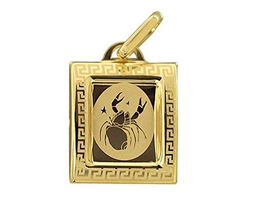 Hobra-Gold STERNZEICHEN GOLD 585 - ANHÄNGER - GOLDANHÄNGER STERNZEICHEN h494 - h505 (Krebs)