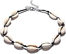 YUZI Happinter Seashell Ketting Shell Ketting Choker Ketting voor Vrouwen Sieraden -Handgemaakte Hanger Shell Ketting Shel...