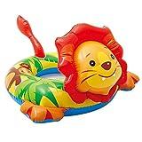 N-B Anillo de natación Infantil Anillo de Asiento Inflable para niños Anillo de bebé de 3-6 años Piscina Interior al Aire Libre Anillo de Flotador para bebé Aro Salvavidas