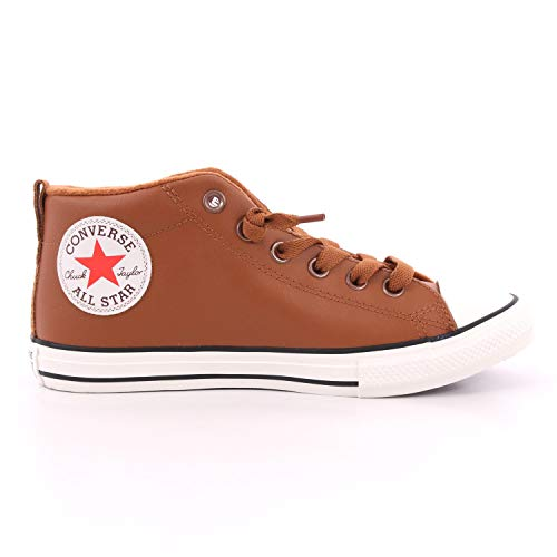 Converse Chuck Taylor All Star Street Red Rover Leather Hi Sneakers Kinder Mostarda Sneakers Alte, Braun - Leder - Größe: 38.5 EU