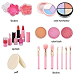 Beauty Shopping AstarX Makeup Toys for Kids,Real Washable Cosmetics Safe & Non-Toxic Beauty Set
