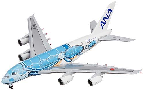 全日空商事 1/500 A380 JA381A ANAブルー 完成品 限定